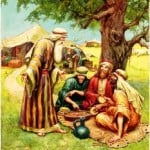 Abraham and the Three Strangers