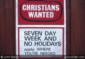 Christians Wanted Seven-Day Week