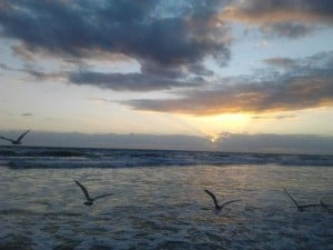 Daytona Beach sunrise.