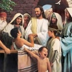 Jesus Healing a Young Boy