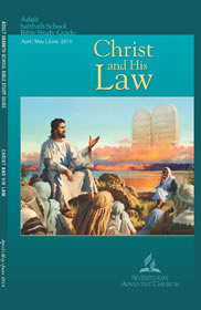 Christ and His Law Lesson Cover