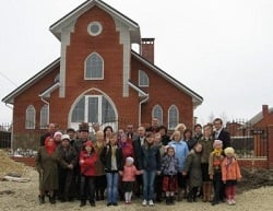 The Temryuk, Russia church and members Courtesy of GC Office of Adventist Mission