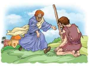 an explanation of the parable of the prodigal son Start studying the parable of the prodigal son and psalm 23 learn vocabulary, terms, and more with flashcards, games, and other study tools.