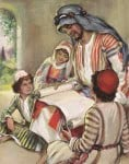Hosea Reads to His Three Children