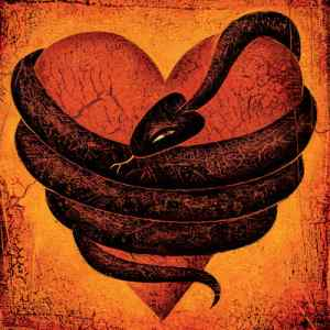 Serpent Wrapped Around a Heart