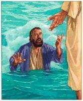 Peter Sinks in the Water