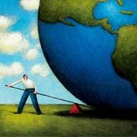 Man Moving the Earth/ moving people to restoration