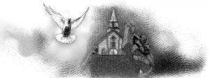 Church and Holy spirit as Dove