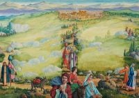 Christians fleeing Jerusalem