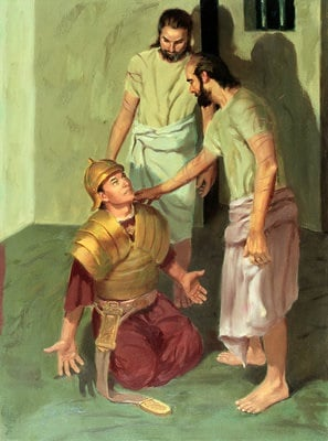 Paul and Silas Answer the Jailer's Question
