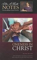EGW Comments on Oneness in Christ