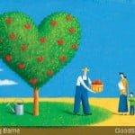 Heart Tree, Giving Away Hearts