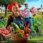 Healthy Living Garden Harvest