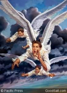 Angels Shouting God's Appeal