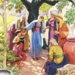 People Receiving the Gospel