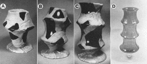Fig 2 Reconstructions and actual vase
