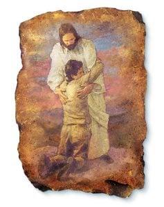 Jesus and boy