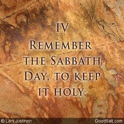 The Fourth Commandment