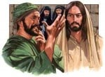 Religious Stock Image Christ Pharisee healed