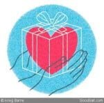 Hands Heart Transparent Box