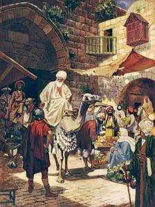 The Wise Men Journey to Jerusalem