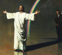 Christ Our Intercessor Harry Anderson painting