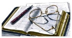 Spectacles on Bible
