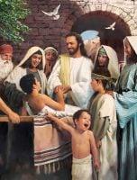 Jesus Healing a Young Boy