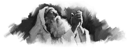Old Testament Man Praying