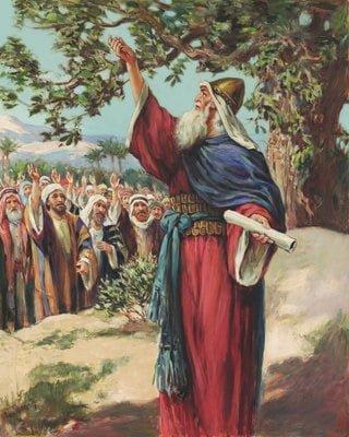 Joshua Renews the Covenant