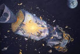 Explosion aboard the Apollo 13