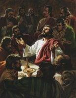 Jesus Prays for His Disciples