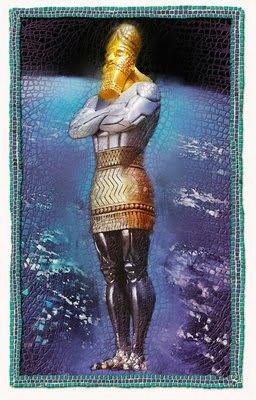 King Nebuchadnezzer's Statue Mosaic