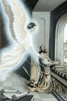Angel Coming to Daniel During Prayer