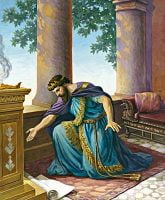 Hezekiah Praying