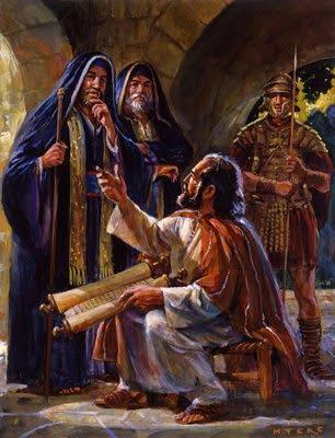 Prisoner Paul Talks About Jesus
